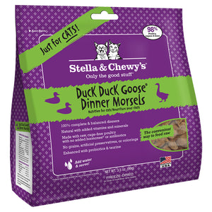 Stella & Chewy's FD Dinner Morsels Duck & Goose | CAT