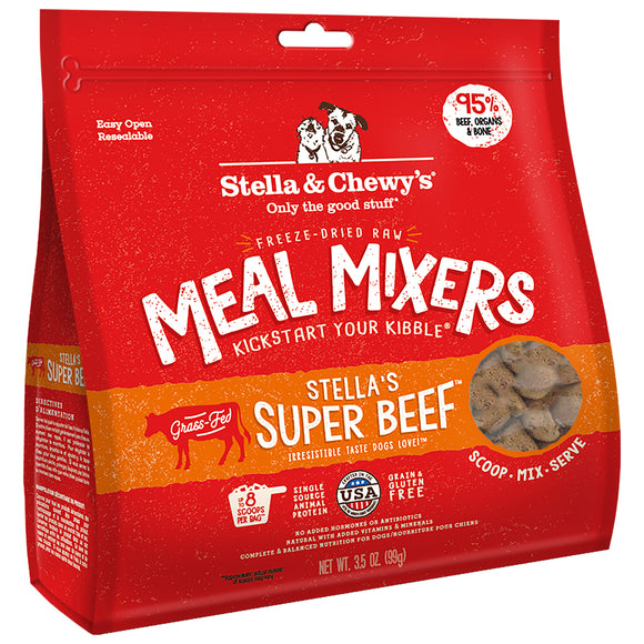 Stella & Chewy's FD Meal Mixers Stella's Super Beef