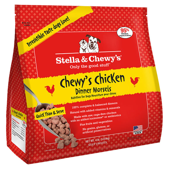 Stella & Chewy's Frozen - Chewy's Chicken Dinner Morsels