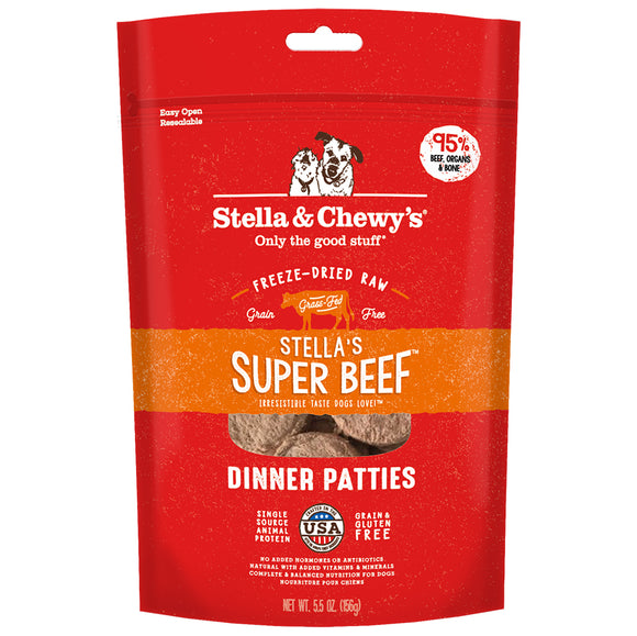 Stella & Chewy's FD Dinner Patties Stella's Super Beef