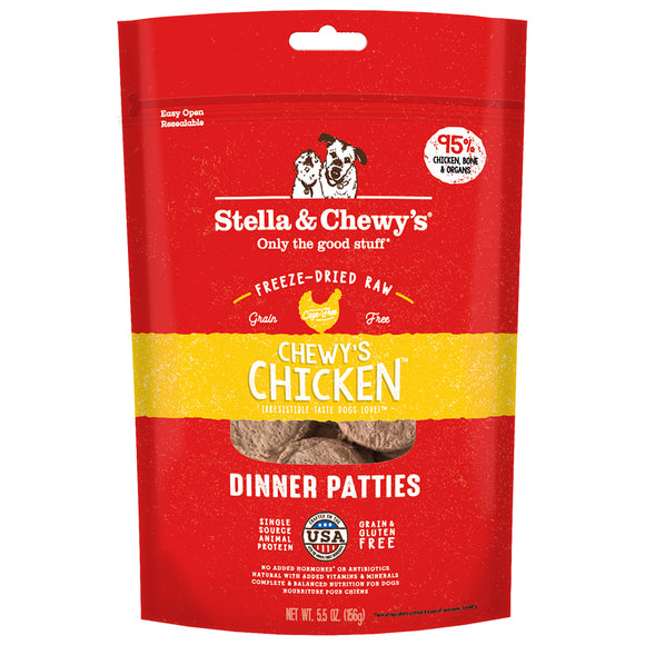 Stella & Chewy's FD Dinner Patties Chewy's Chicken