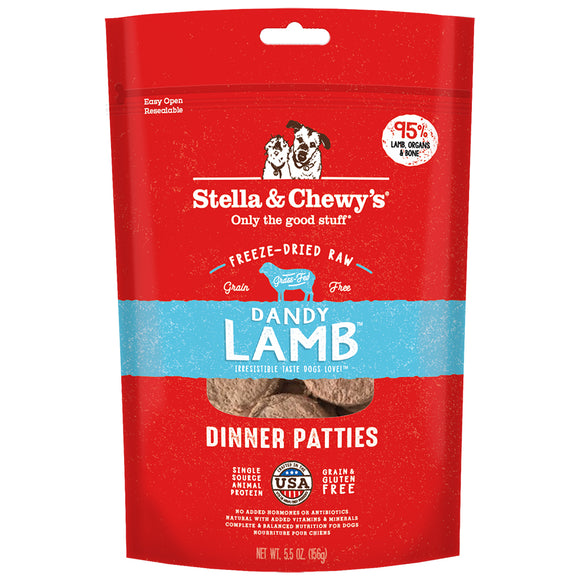 Stella & Chewy's FD Dinner Patties Dandy Lamb