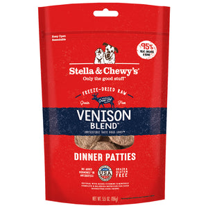 Stella & Chewy's FD Dinner Patties Venison Blend