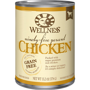 WELLNESS 95% Chicken Mixer or Topper 12/13.2OZ