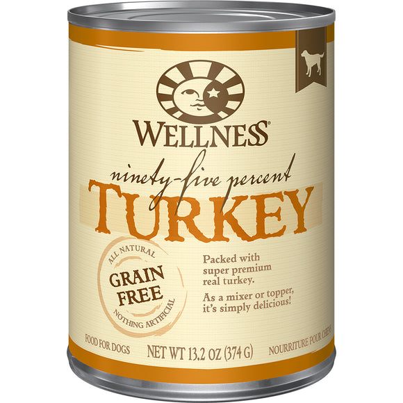 WELLNESS 95% Turkey Mixer or Topper 12/13.2OZ
