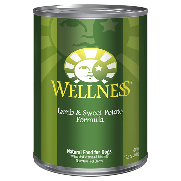 WELLNESS Lamb & Sweet Potato 12/12.5OZ