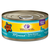 WELLNESS Minced Tuna Dinner Bits in Gravy 3oz | Cat