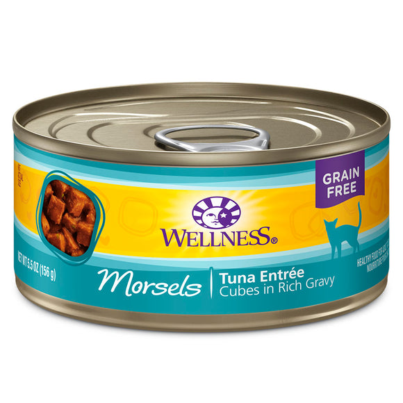 WELLNESS Morsels Tuna Entree Cubes in Gravy | Cat