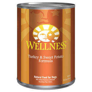 WELLNESS Turkey & Sweet Potato 12/12.5OZ