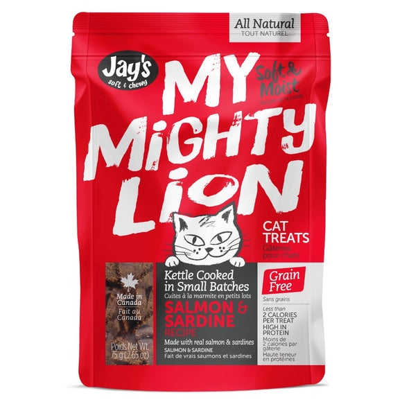 My Mighty Lion Salmon 75GM | Cat