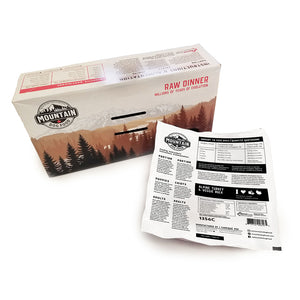 Mountain Dog Frozen - Alpine Turkey & Veggie Bulk 4/4.8LB