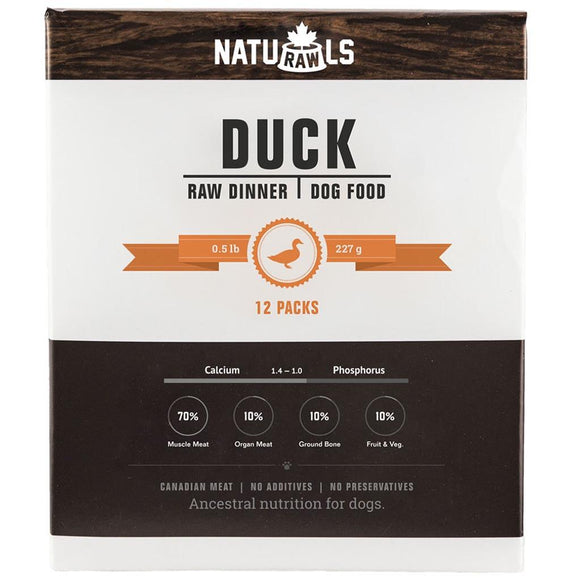 Naturawls-Frozen - Raw Duck & Veggie 12/227GM