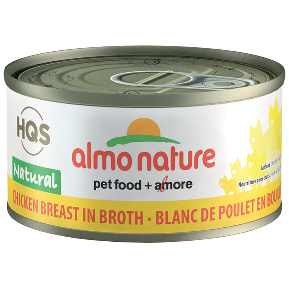 Almo-Chicken Breast in Broth 24/70GM | Cat