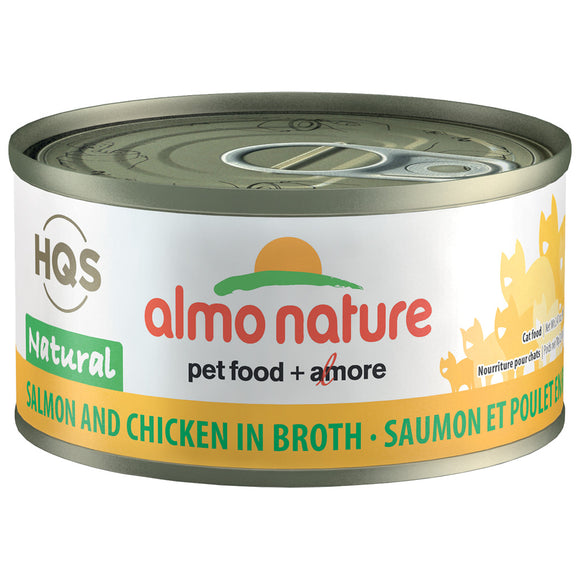 Almo-Salmon & Chicken in Broth 24/70GM | Cat