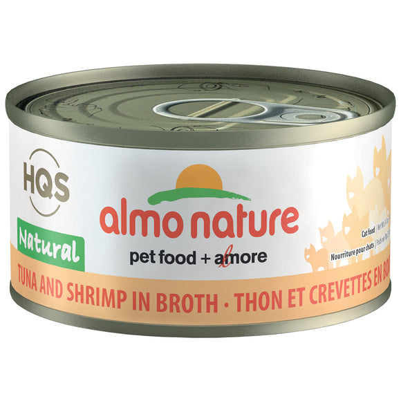 Almo-Tuna & Shrimp in Broth 24/70GM | Cat