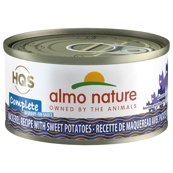 Almo-Complete Mackerel Recipe with Sweet Potatoes 24/70GM |Cat