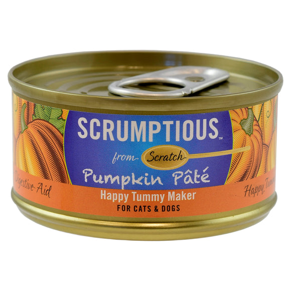SCRUMPTIOUS Pumpkin Pate 24/2.8OZ | Dog & Cat