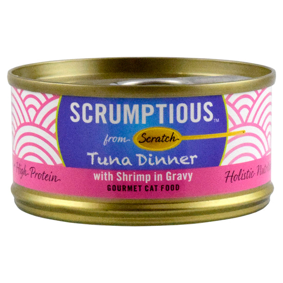 SCRUMPTIOUS Red Meat Tuna & Shrimp 24/2.8OZ | Cat