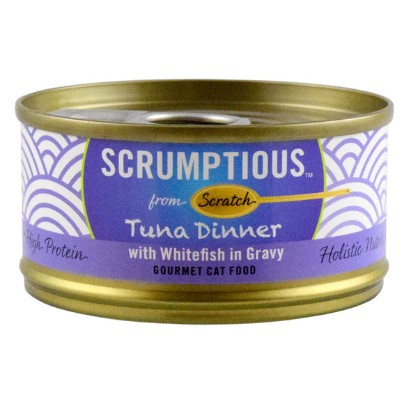 SCRUMPTIOUS Red Meat Tuna & Whitefish 24/2.8OZ | Cat