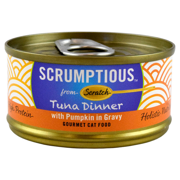 SCRUMPTIOUS Red Meat Tuna with Pumpkin 24/2.8OZ | Cat