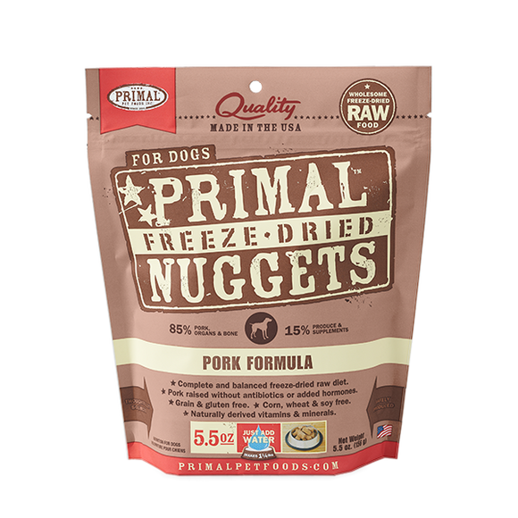 Primal Dog Freeze Dried Pork