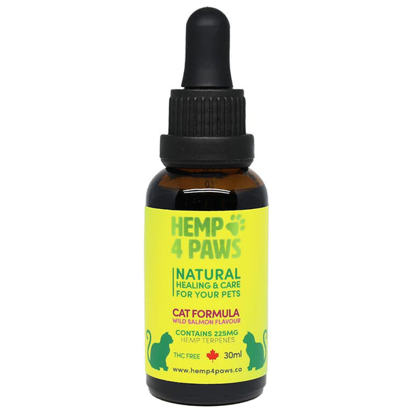 Hemp Seed Oil Wild Salmon Flavour 225MG/30ML | Cat
