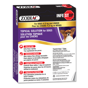 Zodiac Infestop Dogs under 4.5 kg