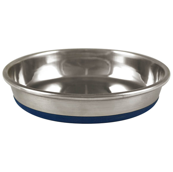 Rubber Bonded Stainless Steel Dish 12OZ | Cat