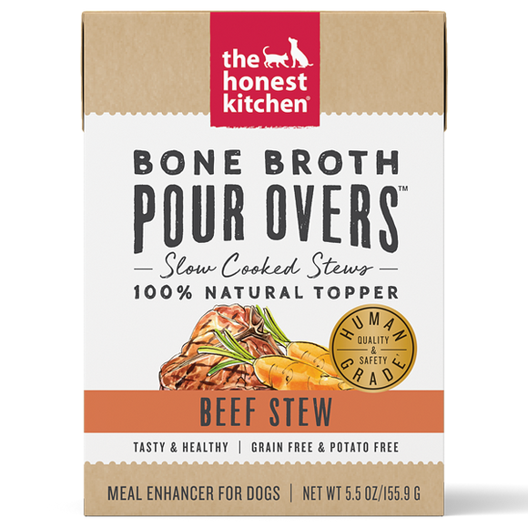 HK Dog GF Pour Overs Superfood Lamb & Beef Stew 12/5.5 oz