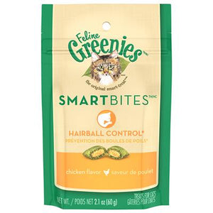 Greenies-Smartbites Hairball Chicken | Cat
