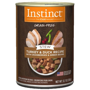INSTINCT Dog Turkey & Duck Stew 6/360g