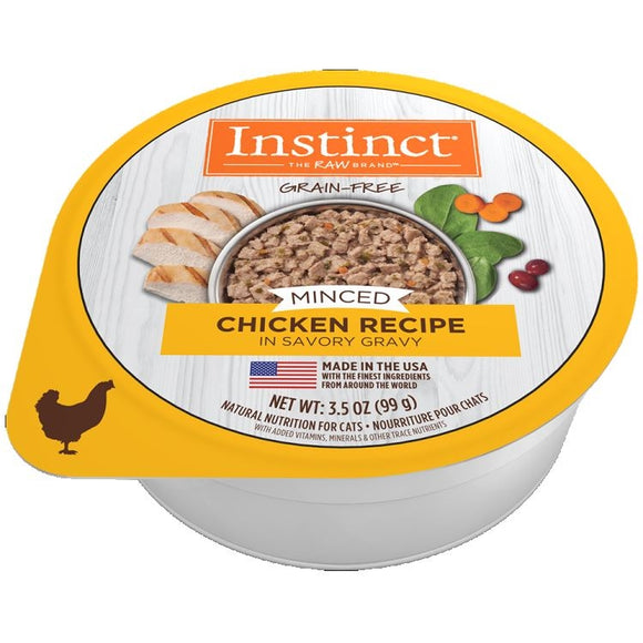 INSTINCT Cat Minced Chicken 12/99g