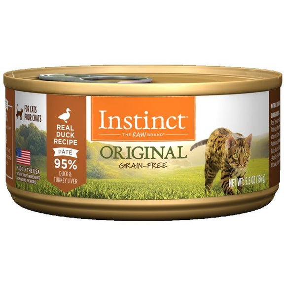 INSTINCT Cat Original Duck Recipe 12/156g