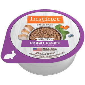 INSTINCT Cat Minced Rabbit 12/99g