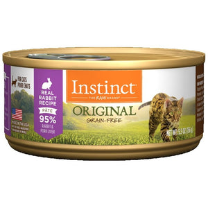 INSTINCT Cat Original Rabbit Recipe 12/156g