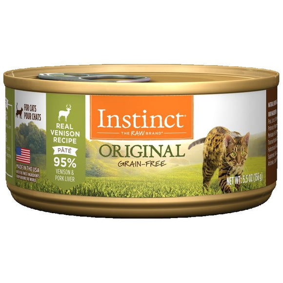 INSTINCT Cat Original Venison Recipe 12/156g