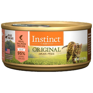 INSTINCT Cat Original Salmon Recipe 12/156g