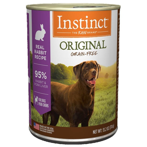 INSTINCT Dog Original Rabbit 6/374g