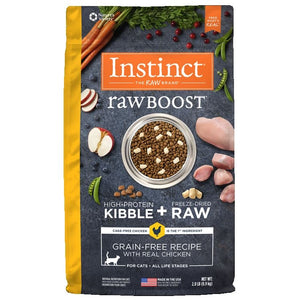 INSTINCT Cat Raw Boost Chicken 2lb/907g