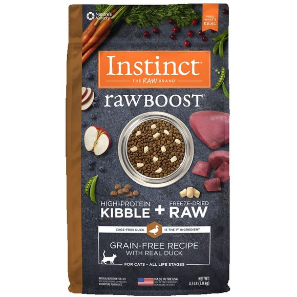INSTINCT Cat Raw Boost Duck 2kg