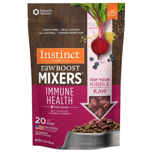INSTINCT Dog Raw Boost Mixers Immune Health 156g