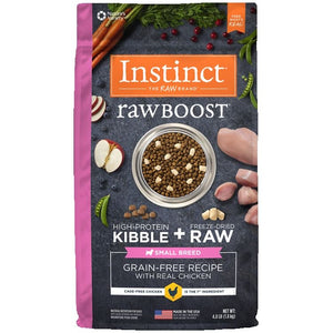 INSTINCT Dog Raw Boost Chicken Small Breed 1.81kg