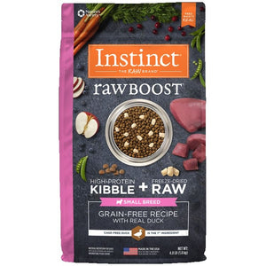 INSTINCT Dog Raw Boost Duck Small Breed 1.81kg