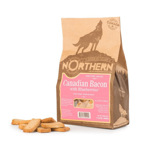 Northern Biscuits WheatFree Canadian BaconW/Blueberries 500g