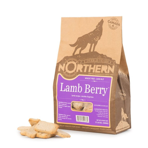 Northern Biscuits Wheat Free Lamb Berry 500g