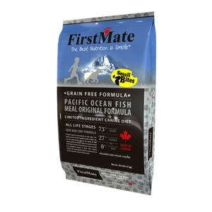 FirstMate Dog LID GF PacificOcean Fish Orig Small Bites