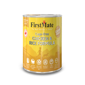 FirstMate Dog Grain Friendly Cage Free Chicken/Rice 12/12.2 oz