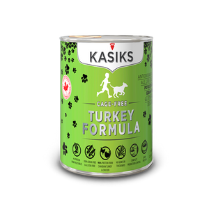 Kasiks Dog GF Cage Free Turkey 12/12.2 oz