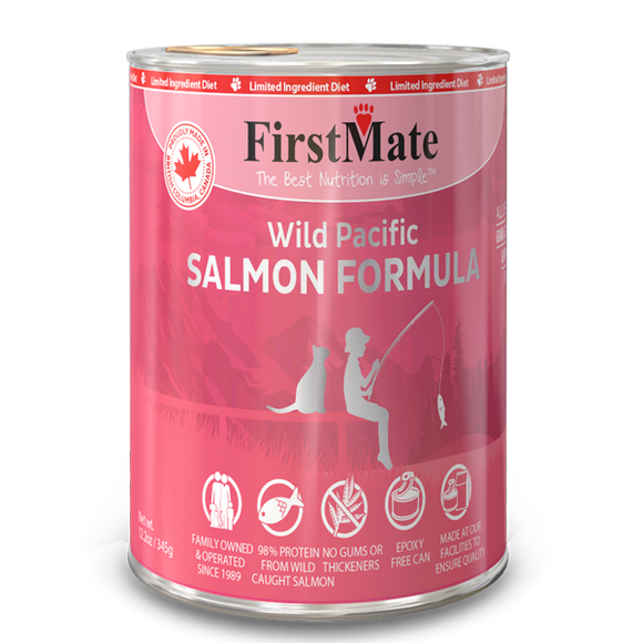 FirstMate Cat LID GF Salmon 12/12.2 oz