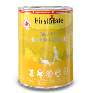 FirstMate Cat LID GF Chicken 12/12.2 oz